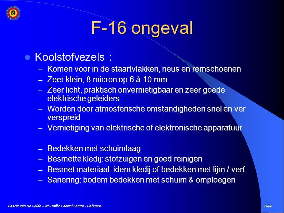 F-16 ongeval Koolstofvezels :