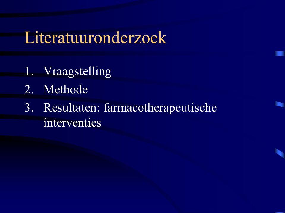 Farmacotherapeutische interventies in de verslavingszorg ...