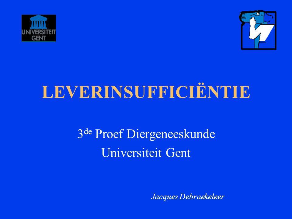 3de Proef Diergeneeskunde Universiteit Gent