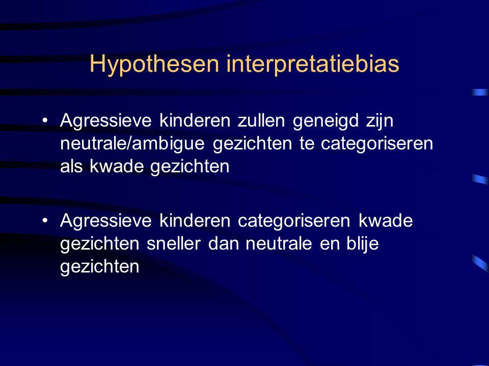 Hypothesen interpretatiebias