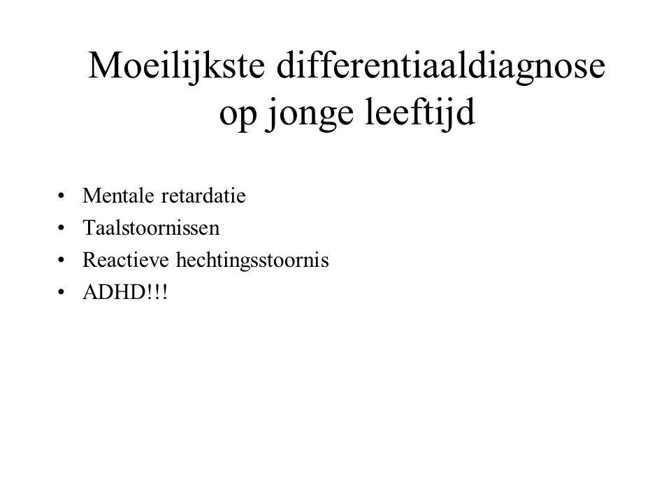 Moeilijkste differentiaaldiagnose op jonge leeftijd