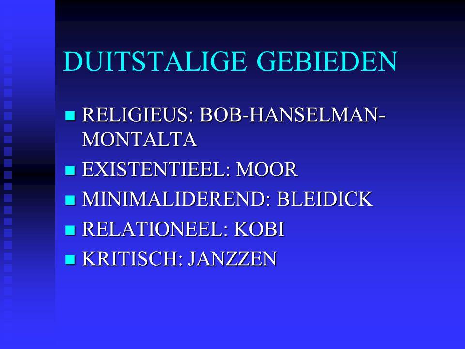 DUITSTALIGE GEBIEDEN RELIGIEUS: BOB-HANSELMAN-MONTALTA