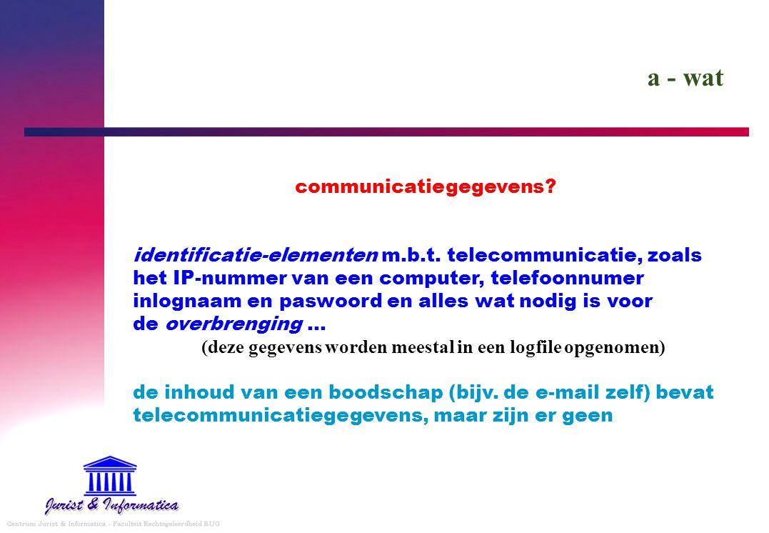 communicatiegegevens