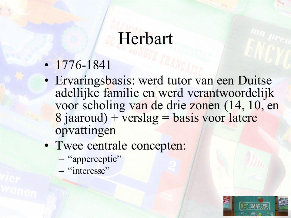 Herbart 1776-1841.