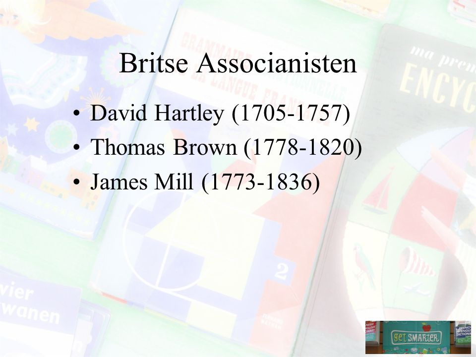 Britse Associanisten David Hartley (1705-1757)