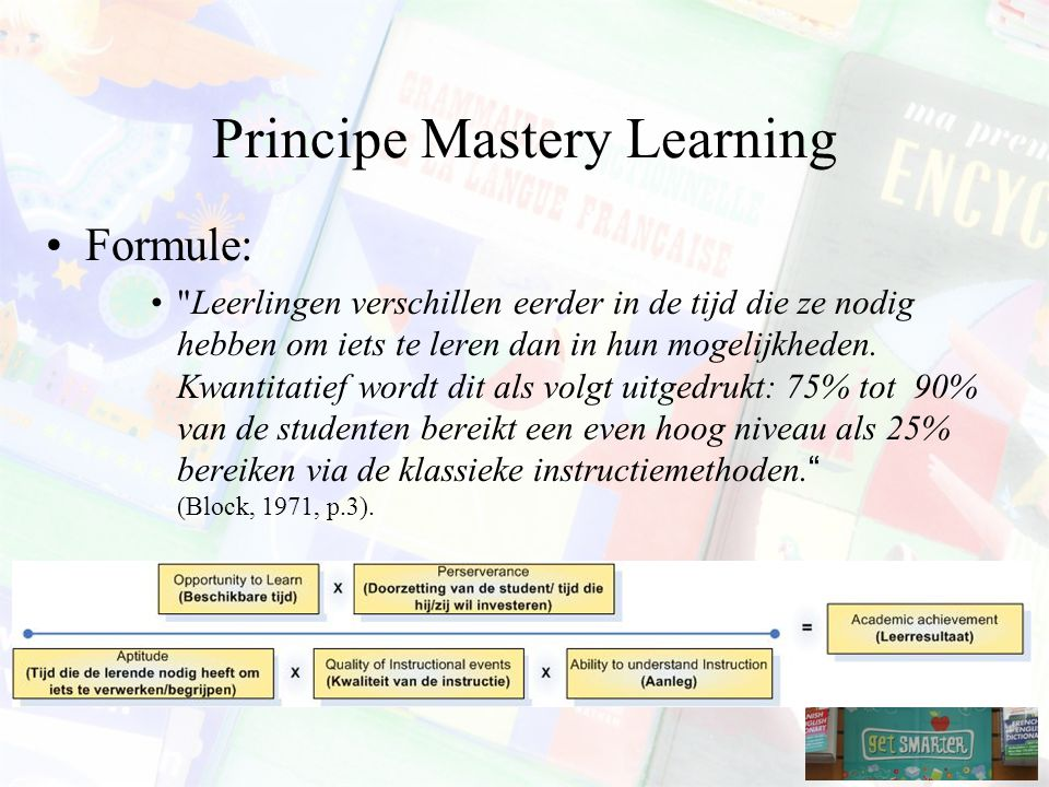 Principe Mastery Learning