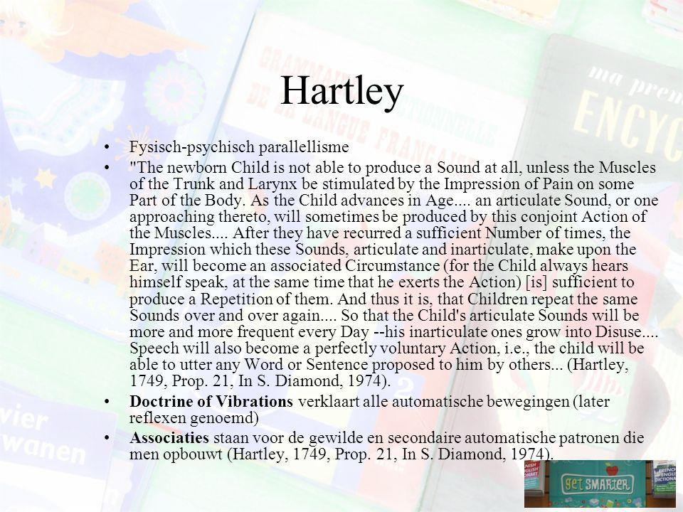 Hartley Fysisch-psychisch parallellisme