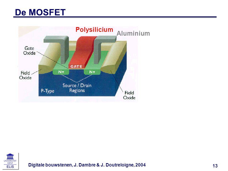 De MOSFET Polysilicium Aluminium