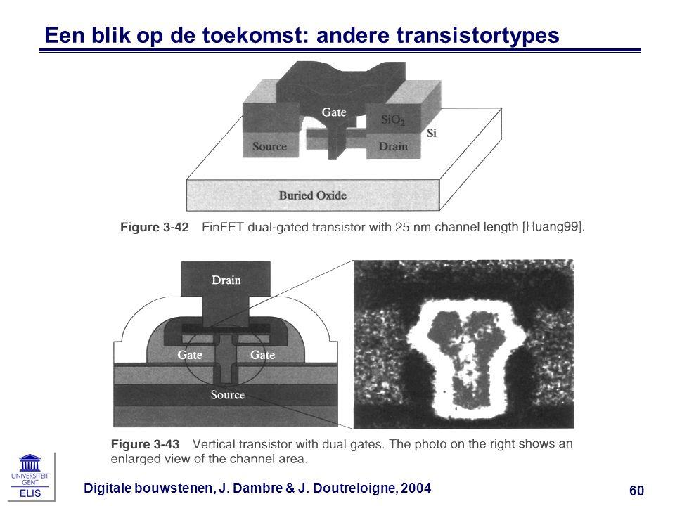 Een blik op de toekomst: andere transistortypes