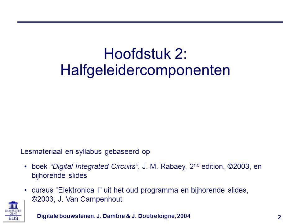Hoofdstuk 2: Halfgeleidercomponenten
