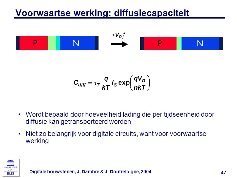 Voorwaartse werking: diffusiecapaciteit
