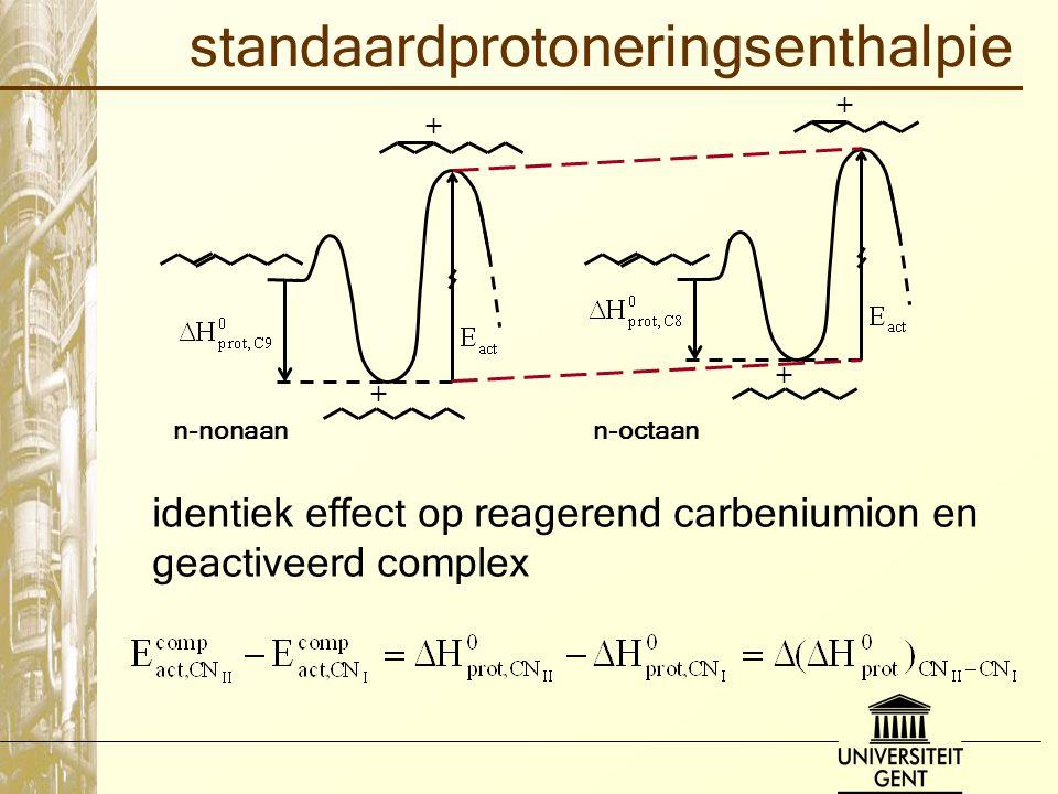 standaardprotoneringsenthalpie