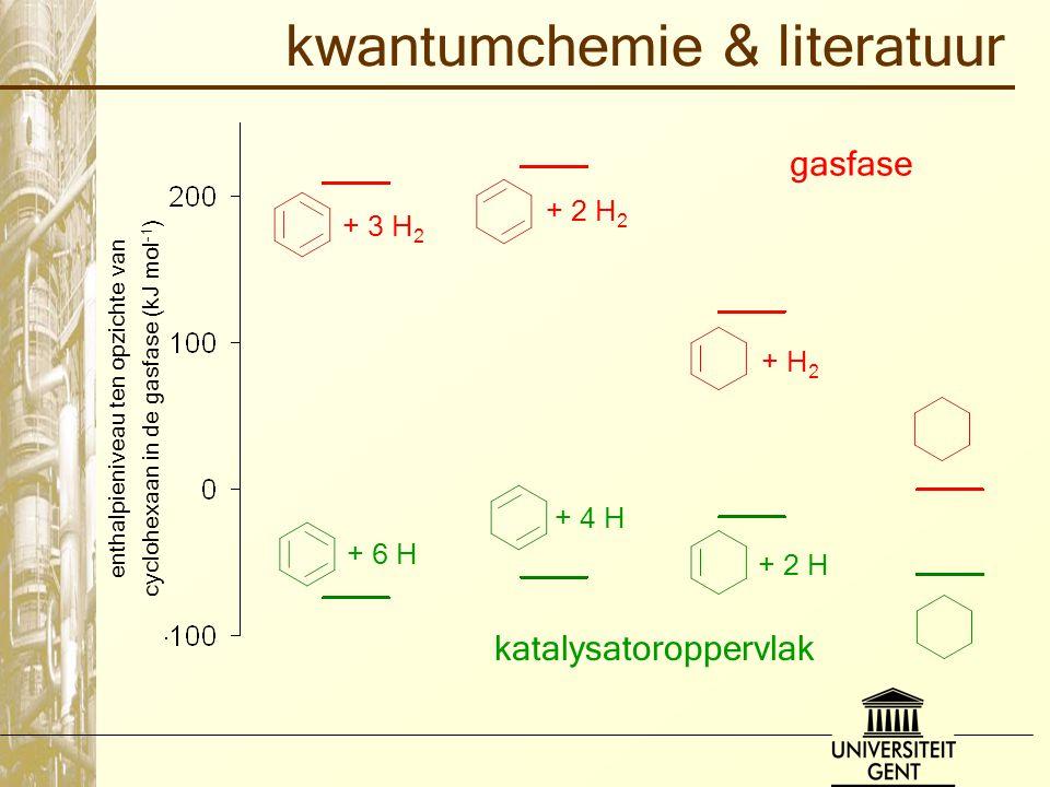kwantumchemie & literatuur