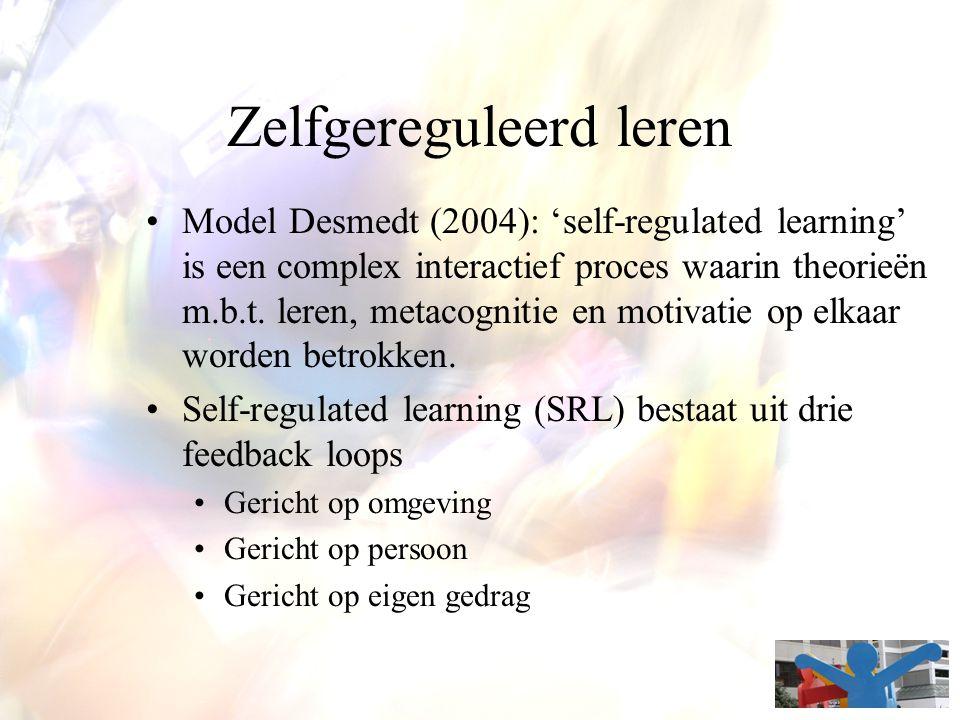 Zelfgereguleerd leren