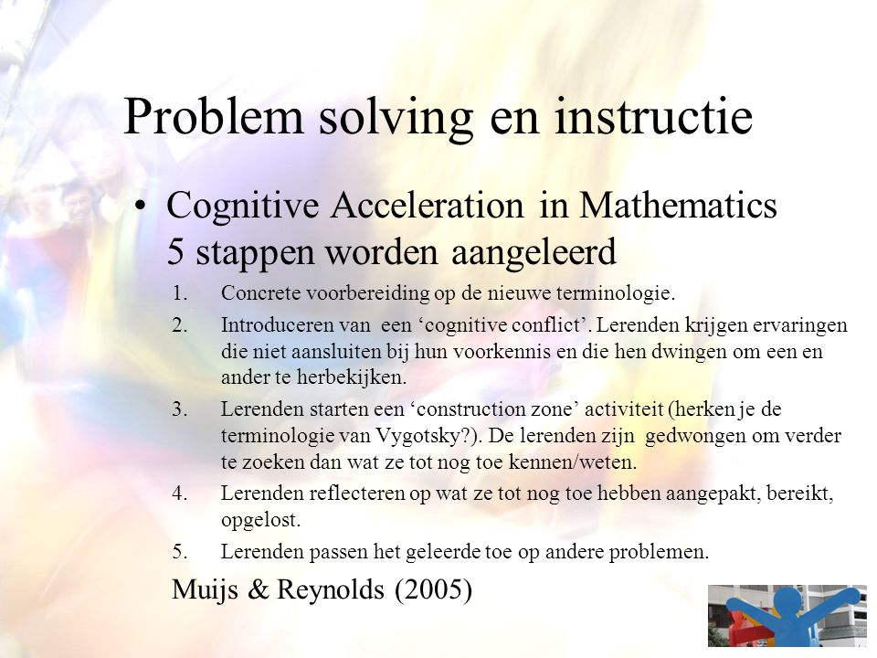 Problem solving en instructie
