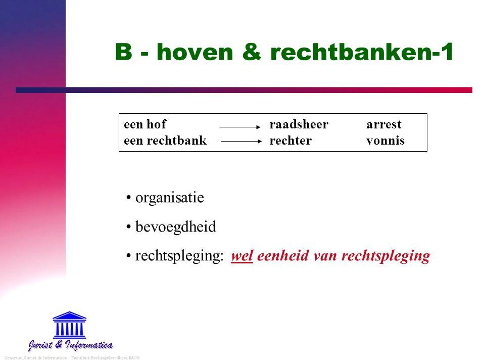 B - hoven & rechtbanken-1