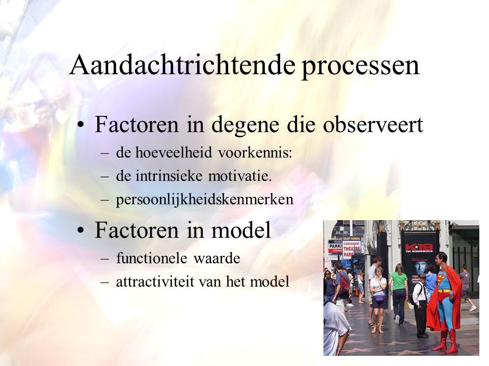 Aandachtrichtende processen