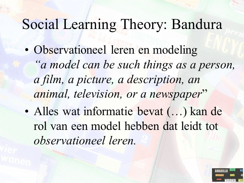 Social Learning Theory: Bandura