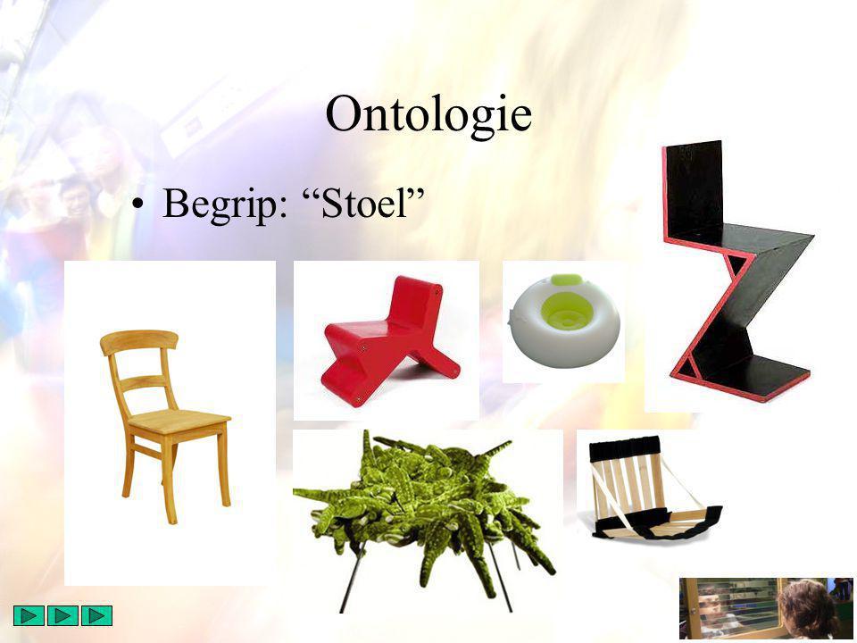 Ontologie Begrip: Stoel