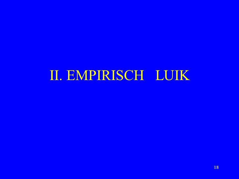 II. EMPIRISCH LUIK