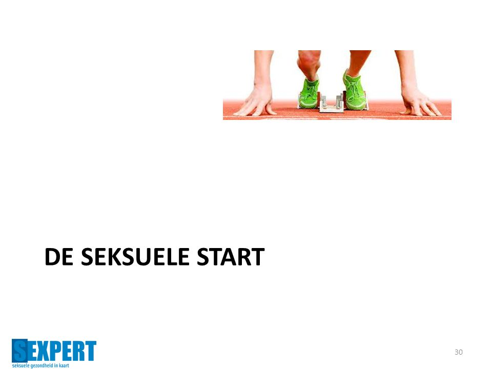 De seksuele start