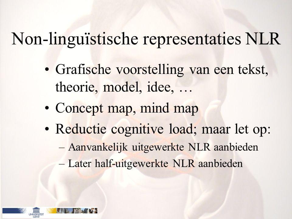 Non-linguïstische representaties NLR