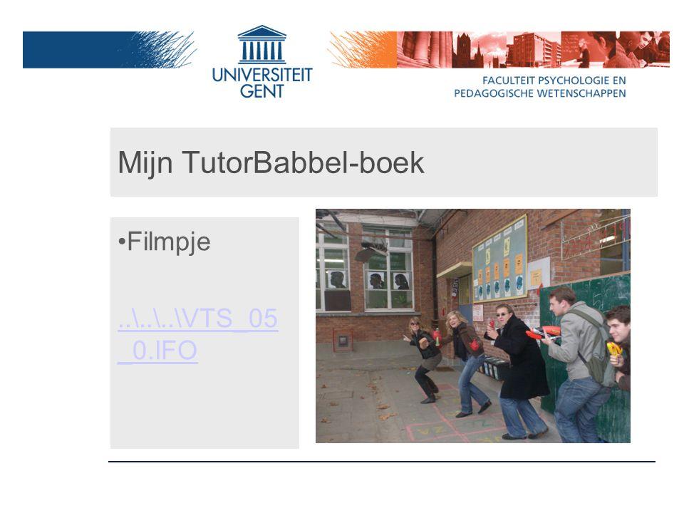 Mijn TutorBabbel-boek