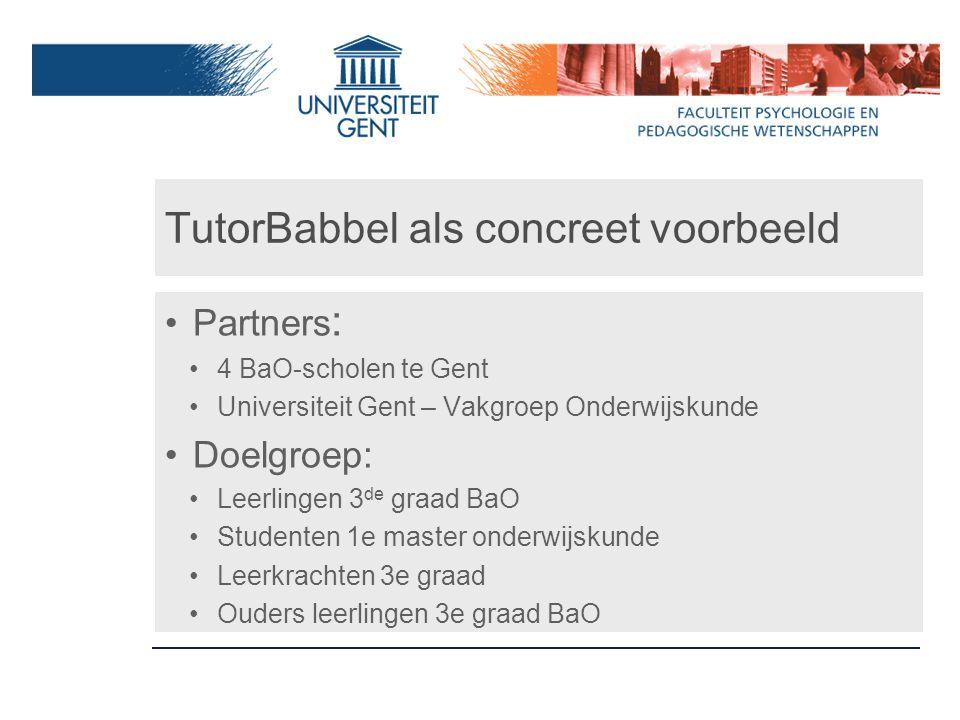 TutorBabbel als concreet voorbeeld