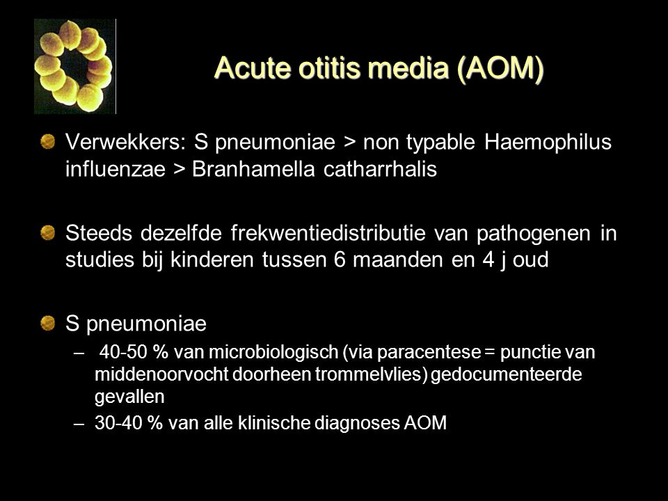 Acute otitis media (AOM)