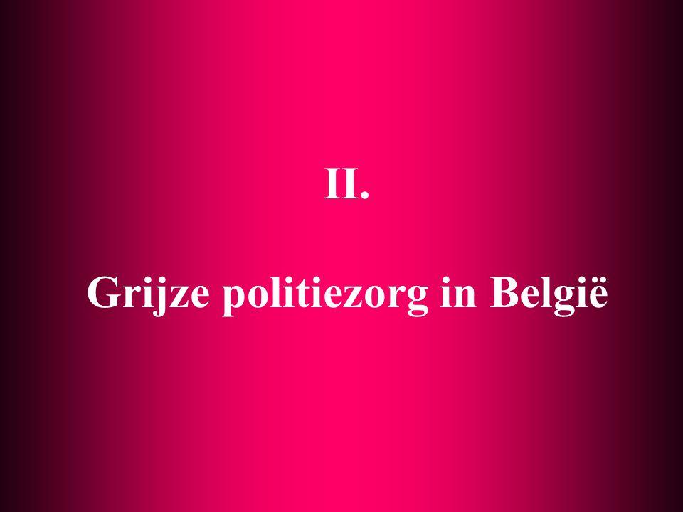 II. Grijze politiezorg in België
