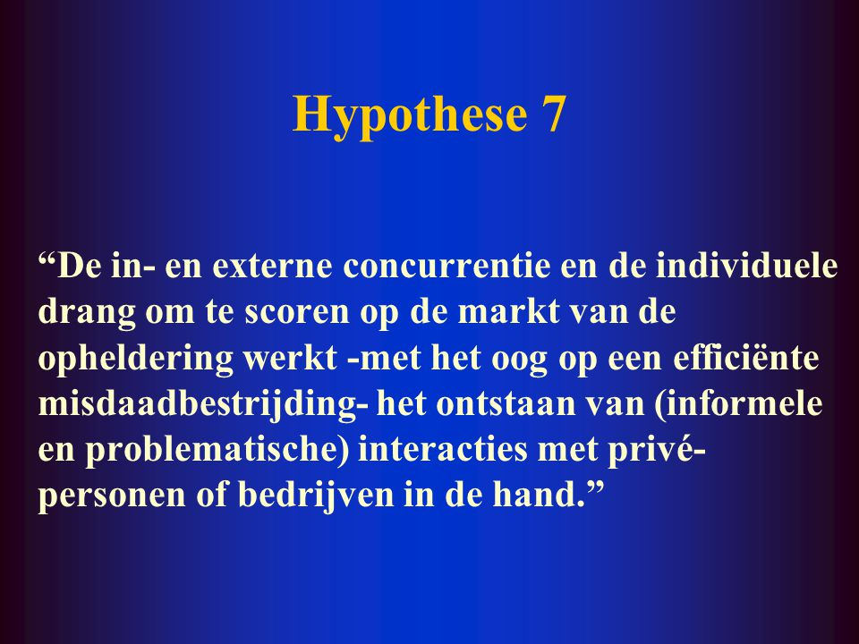 Hypothese 7