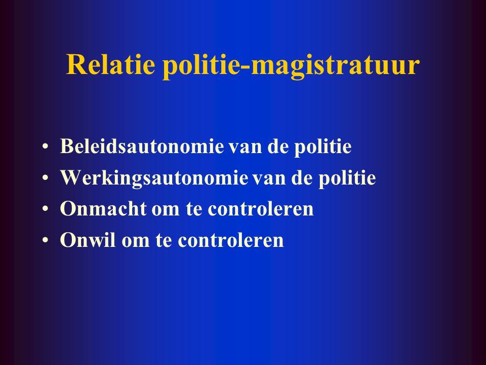 Relatie politie-magistratuur