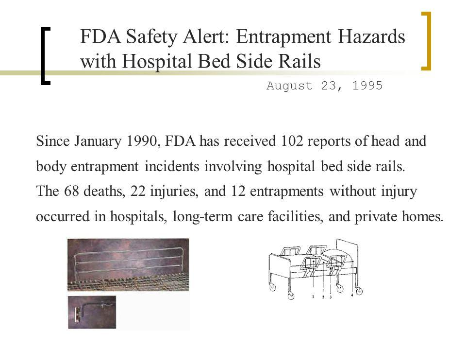 FDA Safety Alert: Entrapment Hazards with Hospital Bed Side Rails