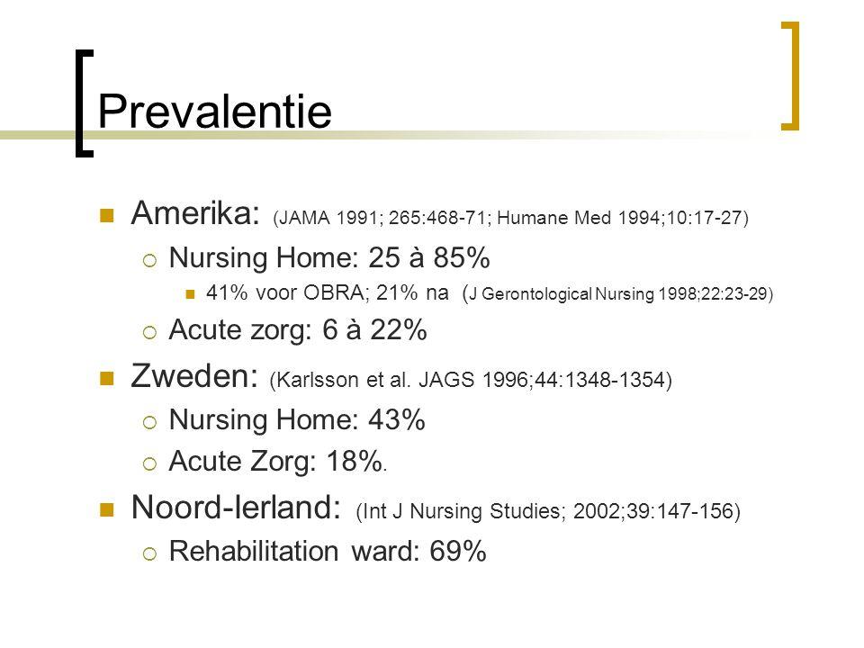 Prevalentie Amerika: (JAMA 1991; 265:468-71; Humane Med 1994;10:17-27)