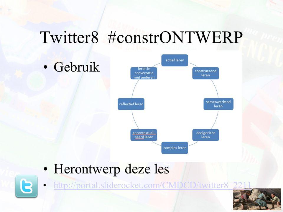 Twitter8 #constrONTWERP