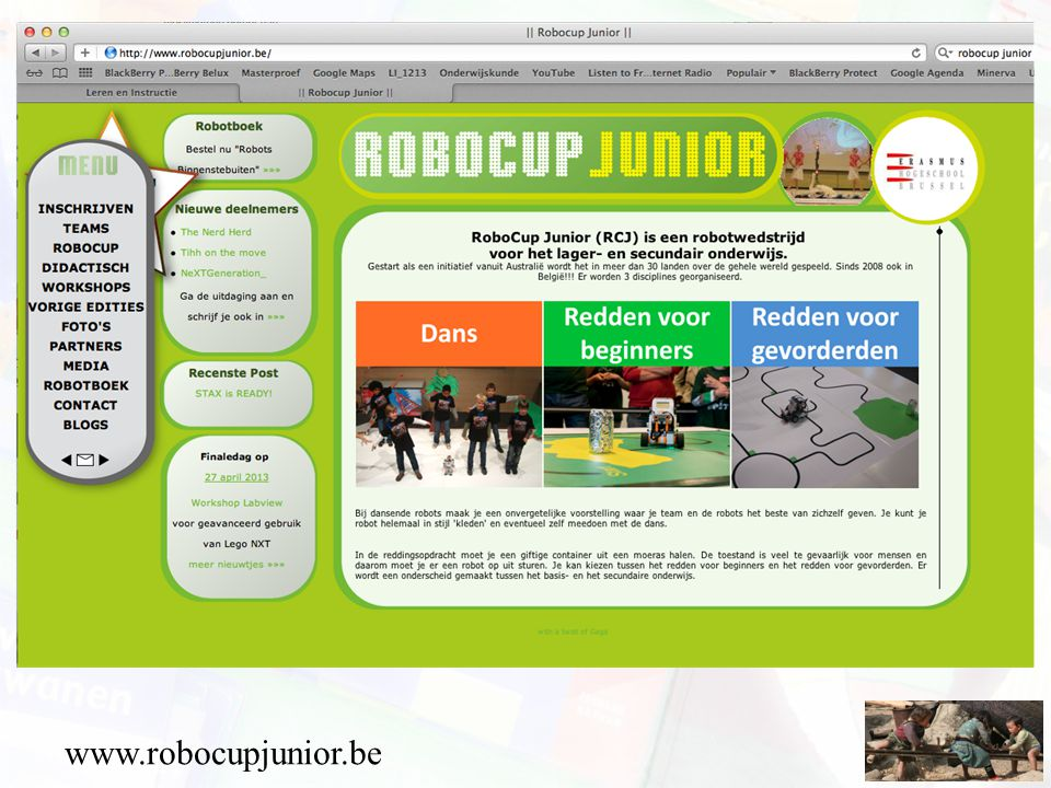 www.robocupjunior.be