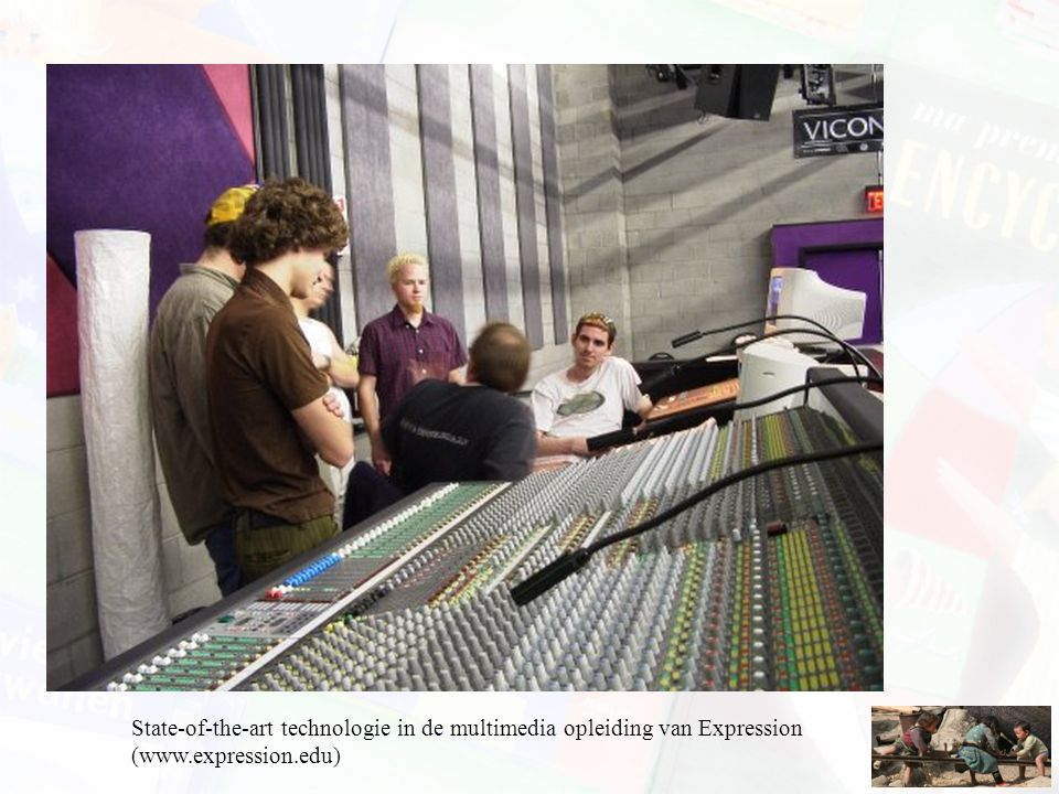 State-of-the-art technologie in de multimedia opleiding van Expression (www.expression.edu)