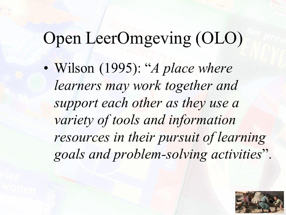 Open LeerOmgeving (OLO)
