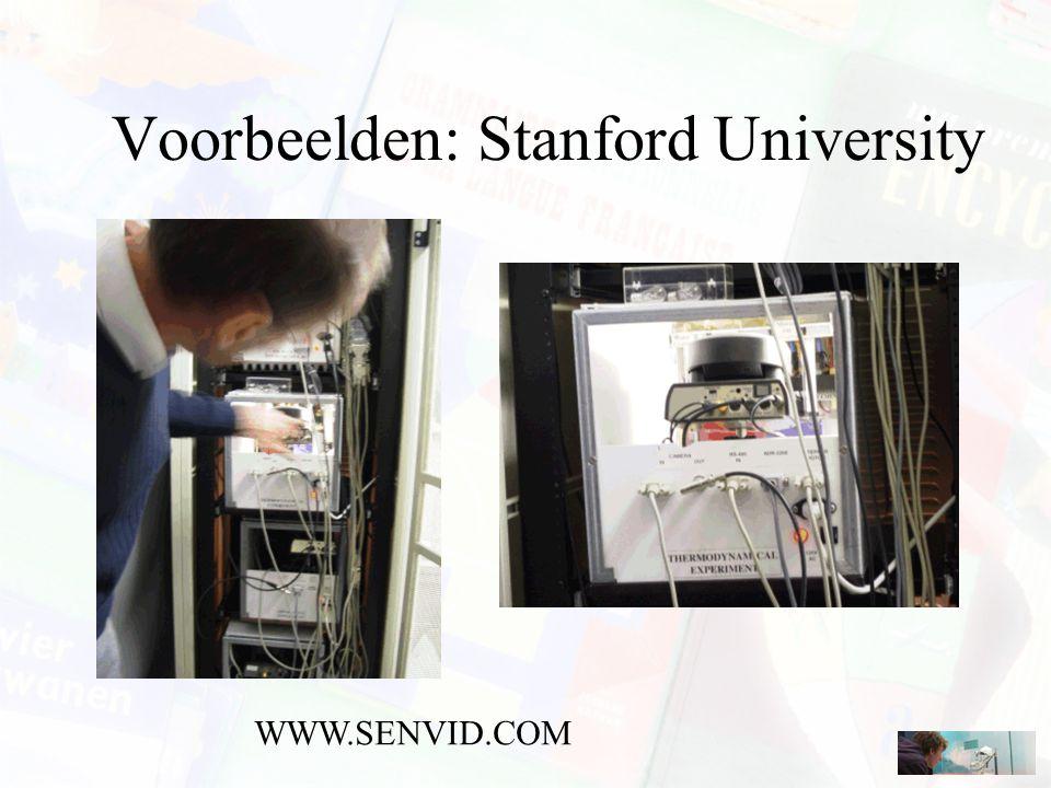 Voorbeelden: Stanford University