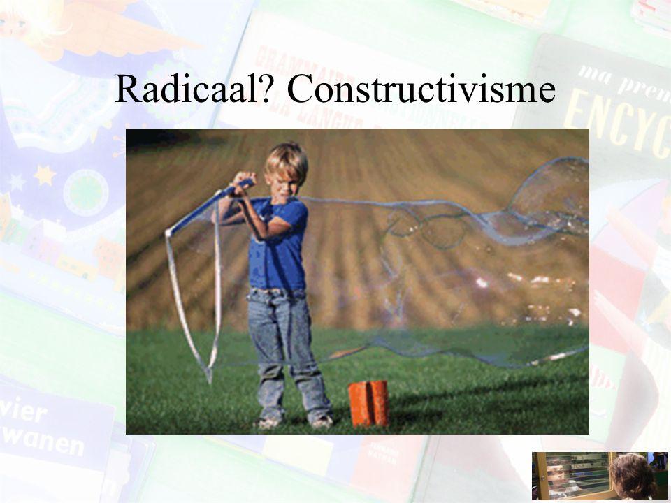 Radicaal Constructivisme