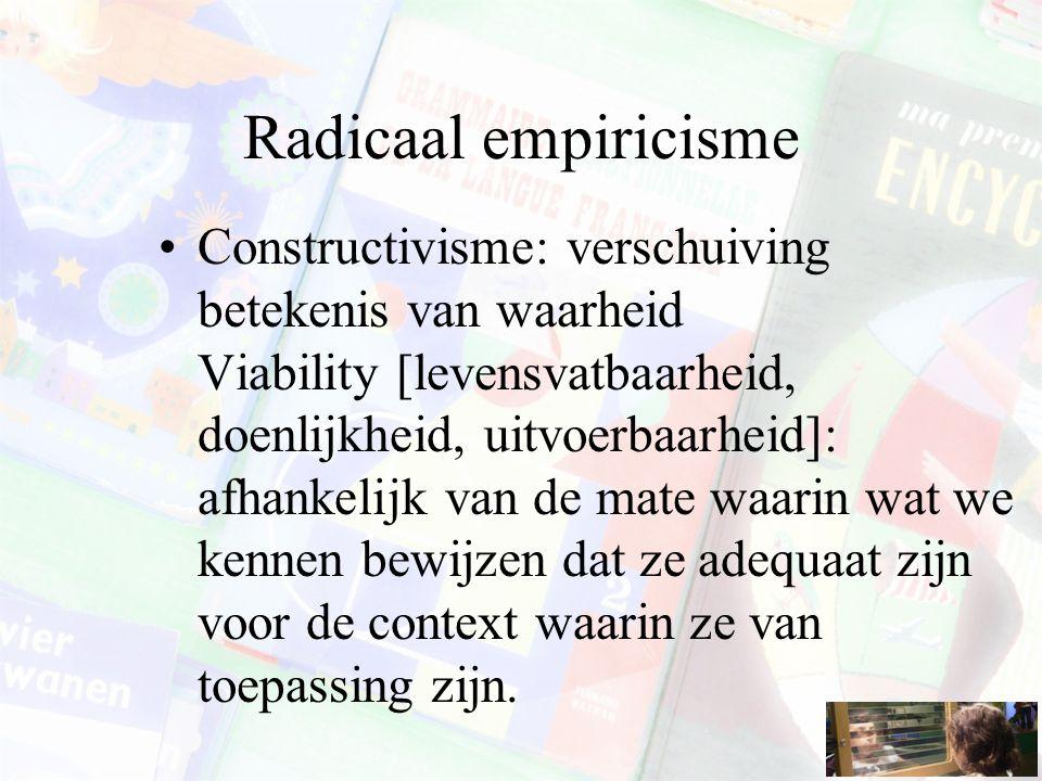 Radicaal empiricisme