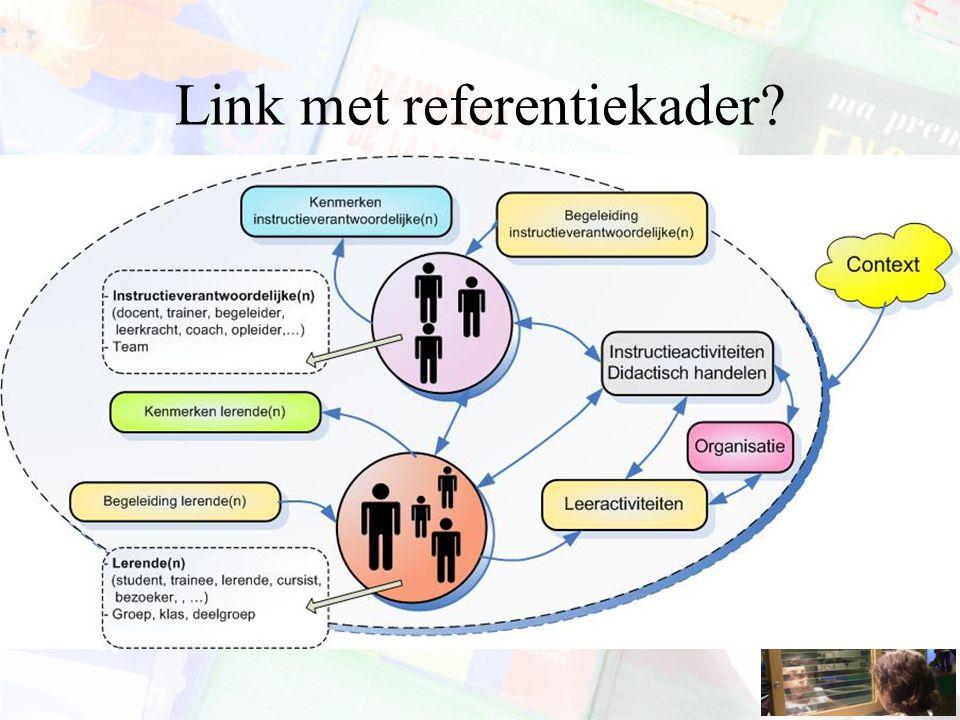 Link met referentiekader