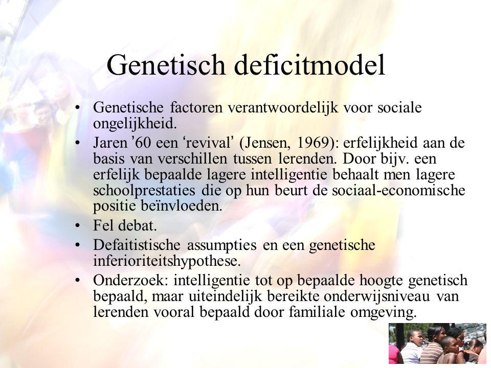 Genetisch deficitmodel