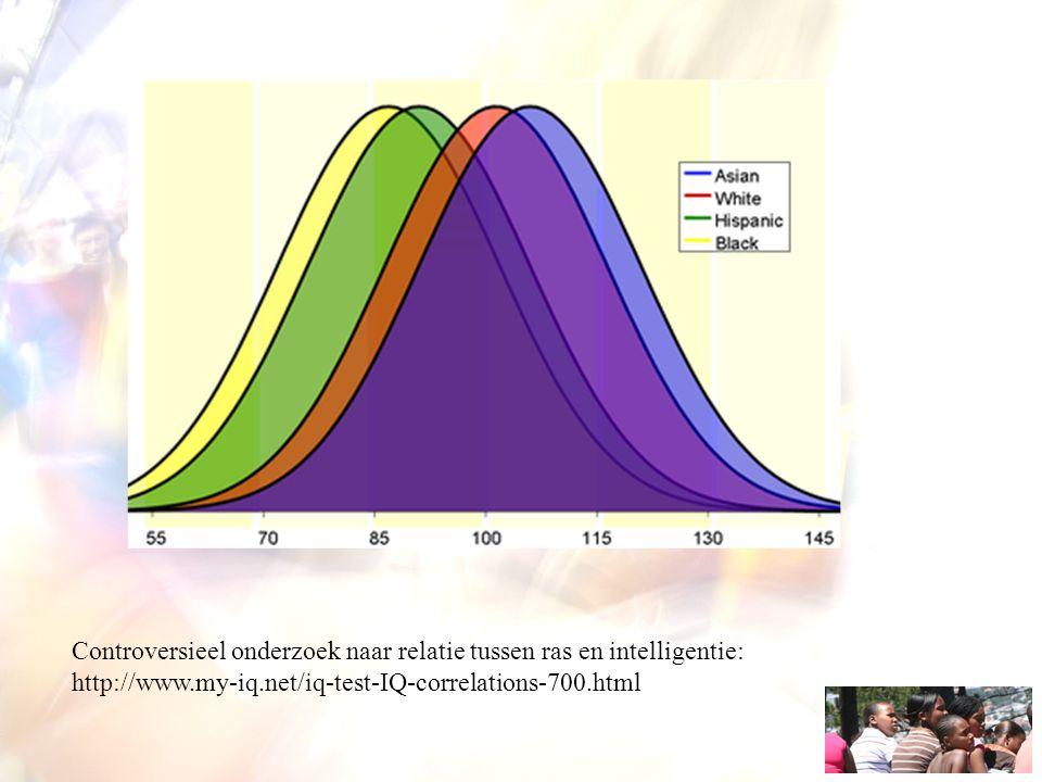 Controversieel onderzoek naar relatie tussen ras en intelligentie: