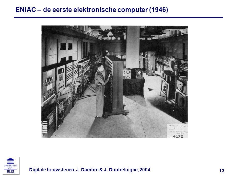ENIAC – de eerste elektronische computer (1946)