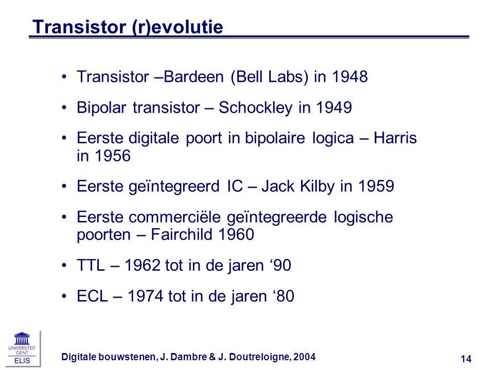 Transistor (r)evolutie