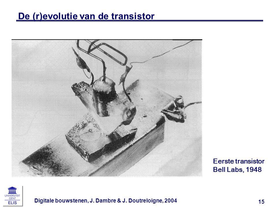 De (r)evolutie van de transistor