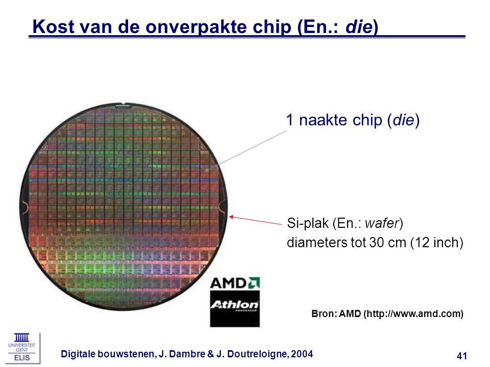 Kost van de onverpakte chip (En.: die)