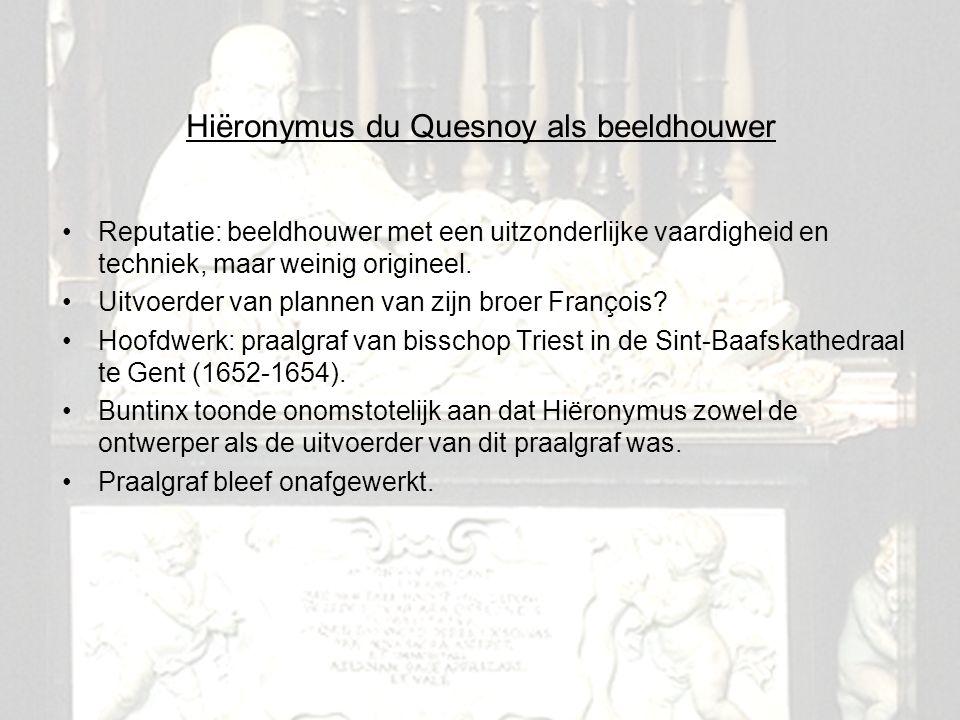 Hiëronymus du Quesnoy als beeldhouwer