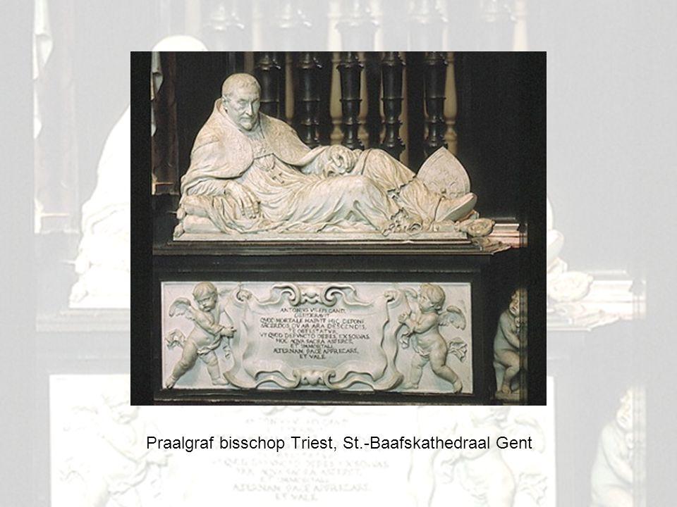 Praalgraf bisschop Triest, St.-Baafskathedraal Gent